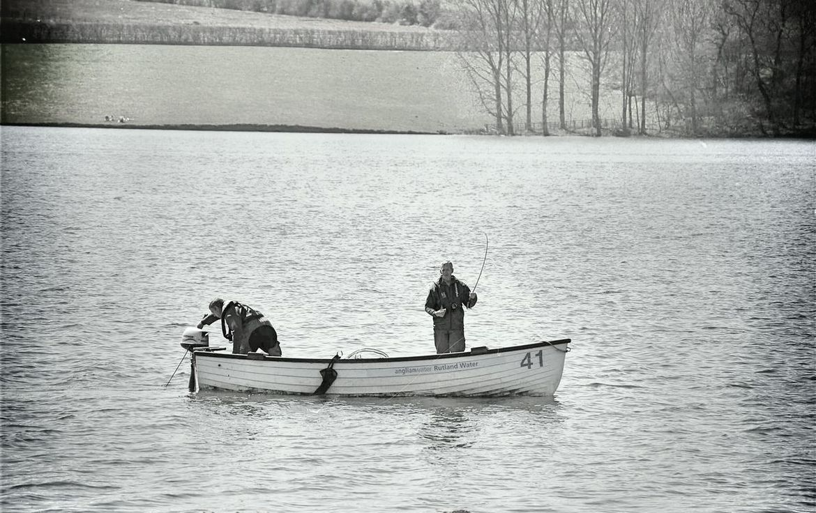 Fishing in Rutland Water