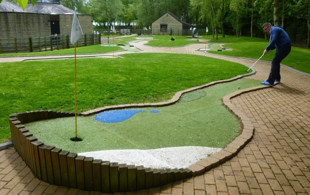 Minigolf in Rutland Water