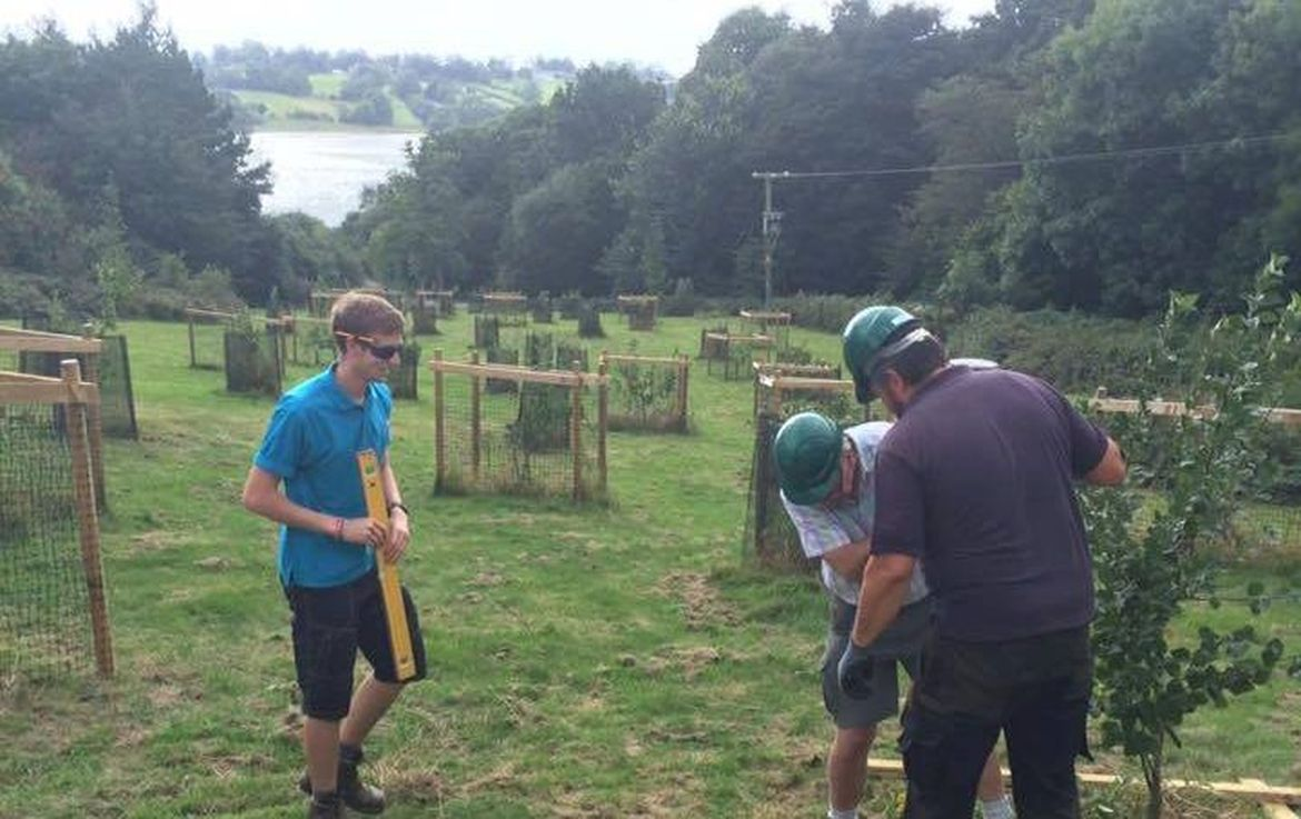 Volunteering in Rutland Water