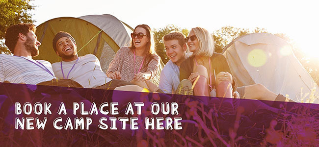 camp site banner