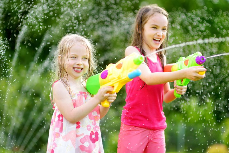 water-gun-races