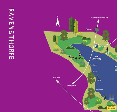 Ravensthorpe Reservoir Map