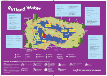 Rutland Water Map